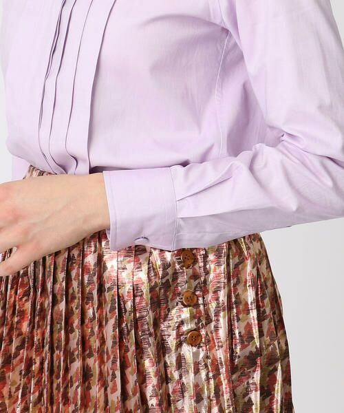 TOMORROWLAND / トゥモローランド シャツ・ブラウス   コットンオックス プリーツボタンダウンシャツ   詳細7