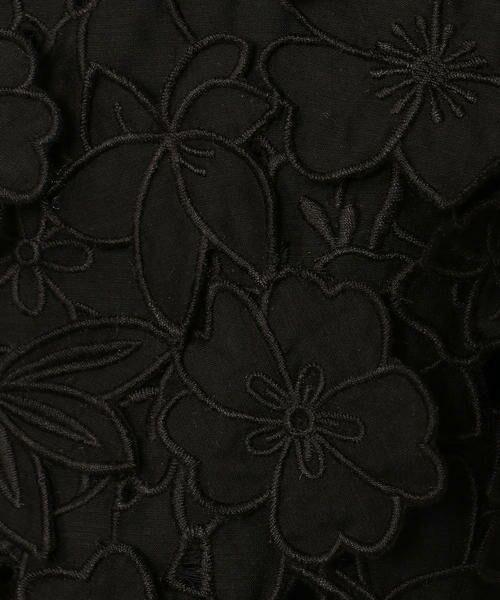 TOMORROWLAND / トゥモローランド シャツ・ブラウス | コットンシルクエンブロイダリー ノースリーブブラウス | 詳細5