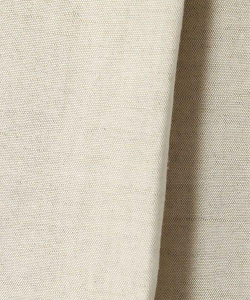 TOMORROWLAND / トゥモローランド シャツ・ブラウス   レーヨンリネン タックフレアプルオーバー   詳細10