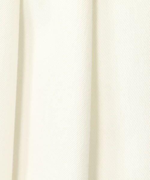TOMORROWLAND / トゥモローランド ショート・ハーフ・半端丈パンツ | シャンブレーツイル クロップドフレアパンツ | 詳細10