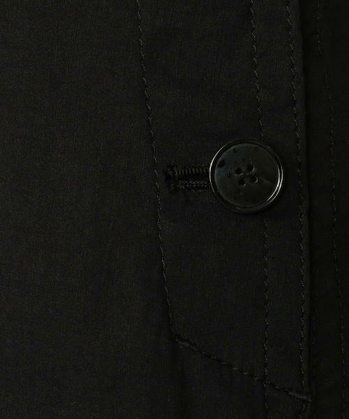TOMORROWLAND / トゥモローランド ミニ・ひざ丈スカート | リネンナイロンストレッチ ラウンドへムスカート | 詳細10