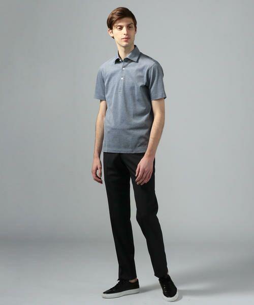TOMORROWLAND / トゥモローランド ポロシャツ | 60/2コットンメッシュ ポロシャツ | 詳細1