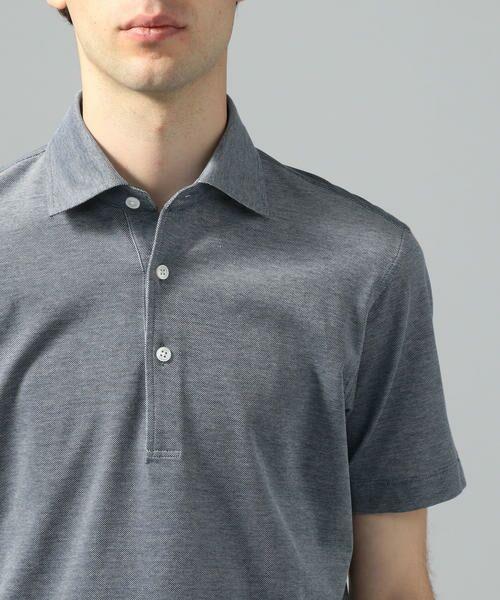 TOMORROWLAND / トゥモローランド ポロシャツ | 60/2コットンメッシュ ポロシャツ | 詳細10