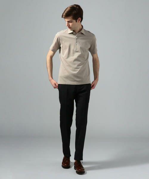 TOMORROWLAND / トゥモローランド ポロシャツ | 60/2コットンメッシュ ポロシャツ | 詳細2