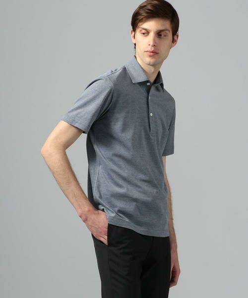 TOMORROWLAND / トゥモローランド ポロシャツ | 60/2コットンメッシュ ポロシャツ | 詳細7