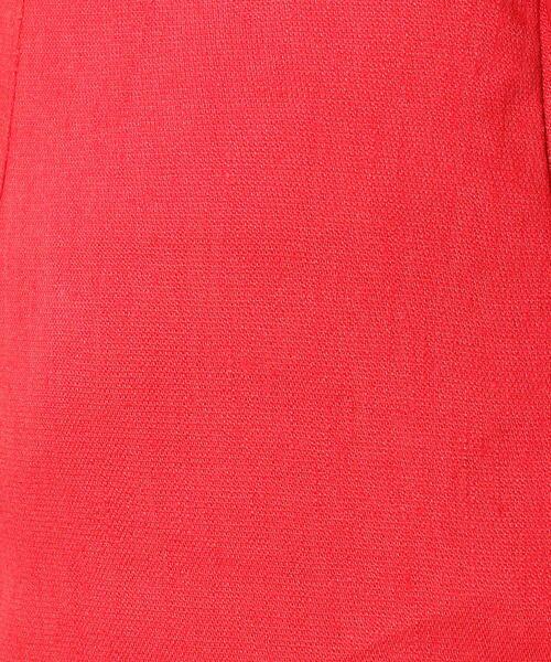 TOMORROWLAND / トゥモローランド ミニ・ひざ丈スカート | リネンレーヨンストレッチ Iラインミディスカート | 詳細8