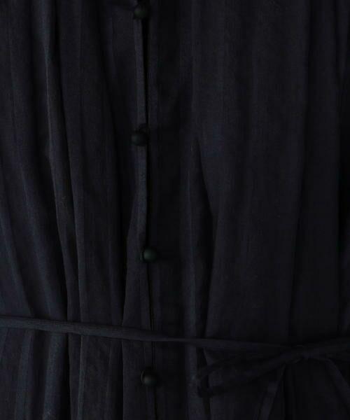 091a2c3ec TOMORROWLAND / トゥモローランド ミニ丈・ひざ丈ワンピース   コットンシャドーストライプ ストール付きノースリーブ
