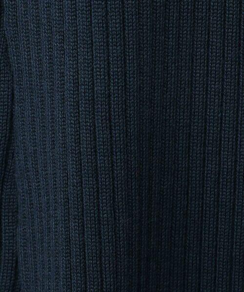 TOMORROWLAND / トゥモローランド ミニ・ひざ丈スカート | ウールポリエステルリブ フレアミディスカート | 詳細7