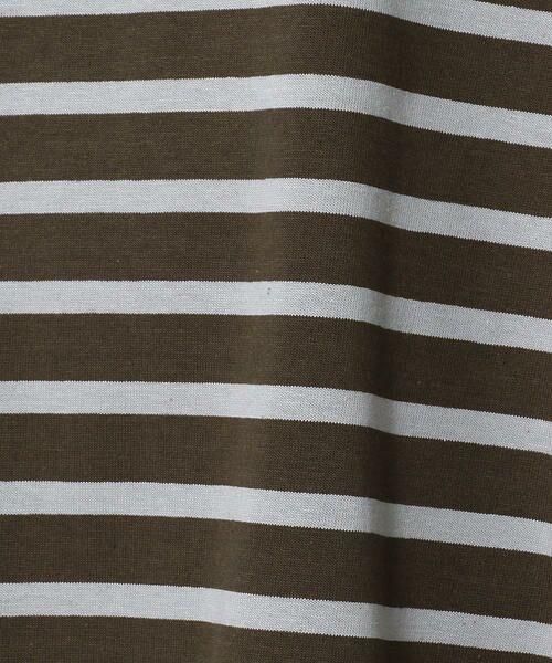 TOMORROWLAND / トゥモローランド ミニ丈・ひざ丈ワンピース | Le minor コットンボーダー フレンチスリーブワンピース | 詳細4