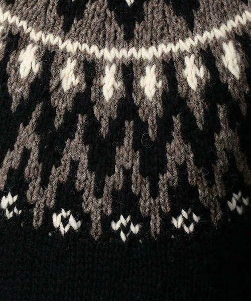 TOMORROWLAND / トゥモローランド ニット・セーター | 【WEB先行予約】フェアアイル クルーネックニット MADE IN PERU | 詳細8