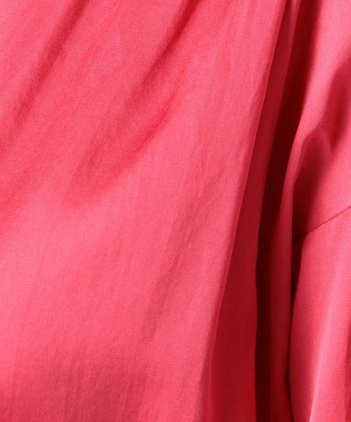 TOMORROWLAND / トゥモローランド シャツ・ブラウス | コットンシルク バックギャザーシャツ | 詳細7