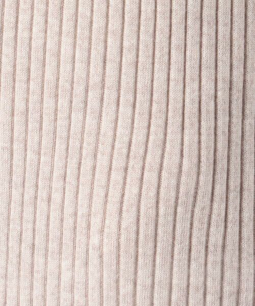 TOMORROWLAND / トゥモローランド ロング・マキシ丈ワンピース | ウーステッドウールリブ ハイネックワンピース | 詳細4