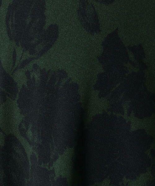 TOMORROWLAND / トゥモローランド ミニ・ひざ丈スカート | シャドーフラワープリント アシンメトリーサーキュラースカート | 詳細6