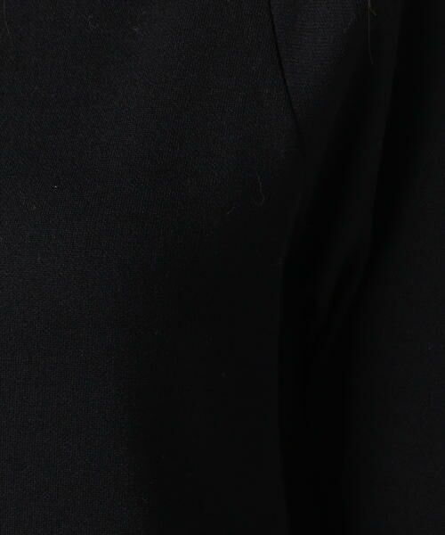 TOMORROWLAND / トゥモローランド ロング・マキシ丈ワンピース | レーヨンナイロンウール ハーフスリーブワンピース | 詳細4