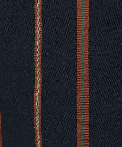 TOMORROWLAND / トゥモローランド シャツ・ブラウス | レジメンタルストライプ スタンドカラーシャツ | 詳細5