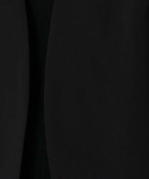 TOMORROWLAND / トゥモローランド ノーカラージャケット   ウールストレッチ ノーカラージャケット   詳細4