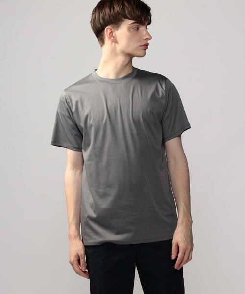 TOMORROWLAND / トゥモローランド カットソー | Edition クルーネックTシャツ(17 チャコールグレー)