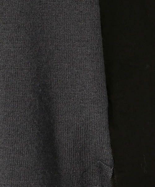 TOMORROWLAND / トゥモローランド シャツ・ブラウス | コットンウールコンビ ロングプルオーバー | 詳細6
