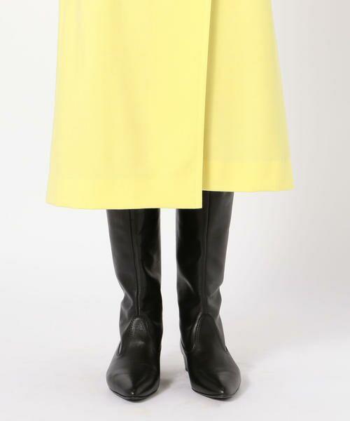 TOMORROWLAND / トゥモローランド ミニ・ひざ丈スカート | ウールストレッチ 3-wayスカート | 詳細10