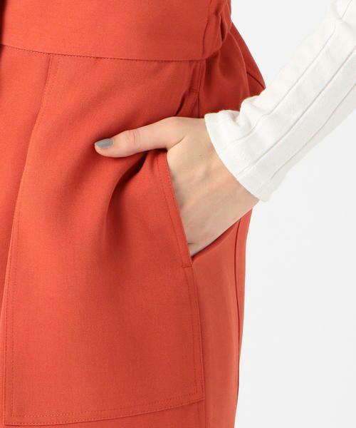 TOMORROWLAND / トゥモローランド ミニ・ひざ丈スカート | ドライオックス バックギャザースカート | 詳細10