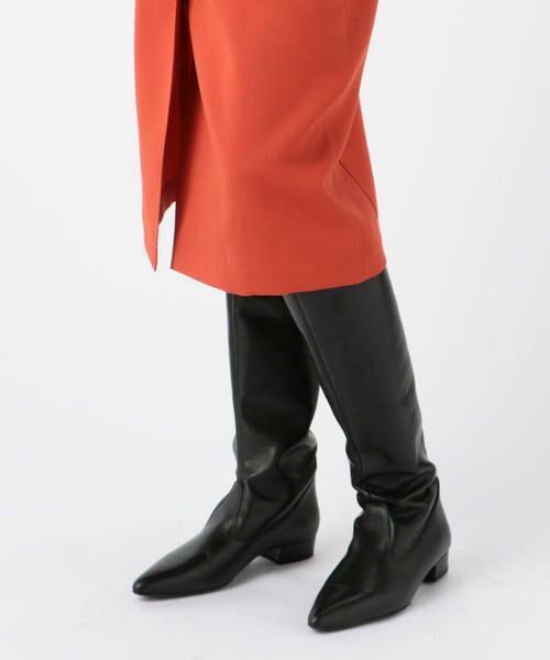 TOMORROWLAND / トゥモローランド ミニ・ひざ丈スカート | ドライオックス バックギャザースカート | 詳細11