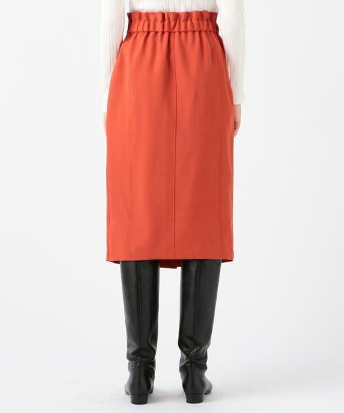 TOMORROWLAND / トゥモローランド ミニ・ひざ丈スカート | ドライオックス バックギャザースカート | 詳細6