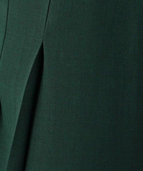 TOMORROWLAND / トゥモローランド ミニ・ひざ丈スカート | ドライクロス アシンメトリープリーツスカート | 詳細5