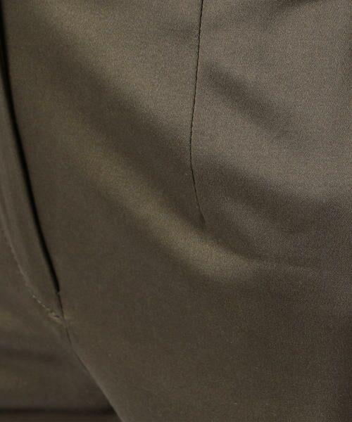 TOMORROWLAND / トゥモローランド ショート・ハーフ・半端丈パンツ   ギザコットンサテン クロップドパンツ   詳細4