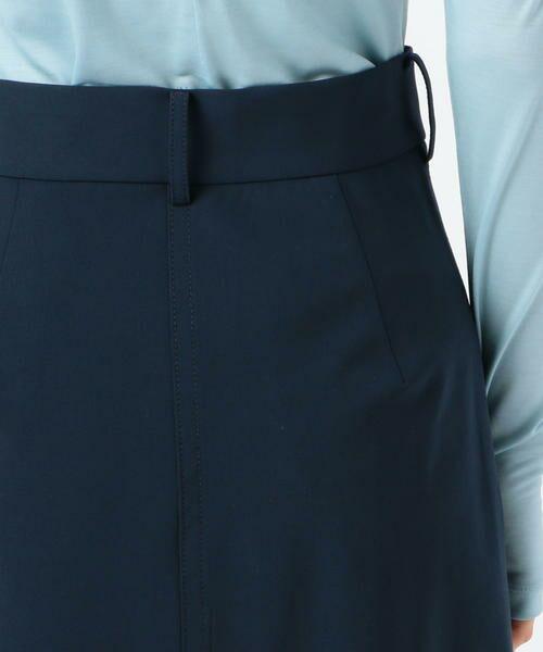 TOMORROWLAND / トゥモローランド ミニ・ひざ丈スカート | ウールストレッチ ラウンドヘムスカート | 詳細7