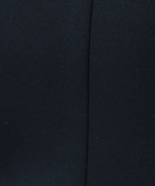 TOMORROWLAND / トゥモローランド ミニ・ひざ丈スカート | ボンディングクロス サイドスリットスカート | 詳細6