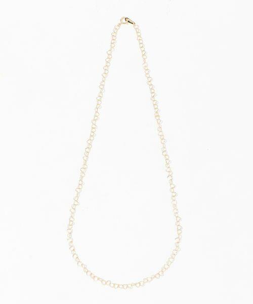 TOMORROWLAND/トゥモローランド LES BONBON heart necklace 91 ゴールド F