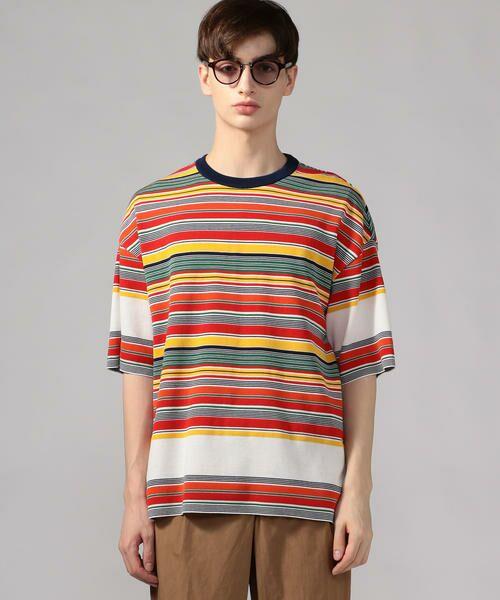 TOMORROWLAND / トゥモローランド Tシャツ   カラフルボーダー ビッグニットTシャツ tricot-T   詳細11