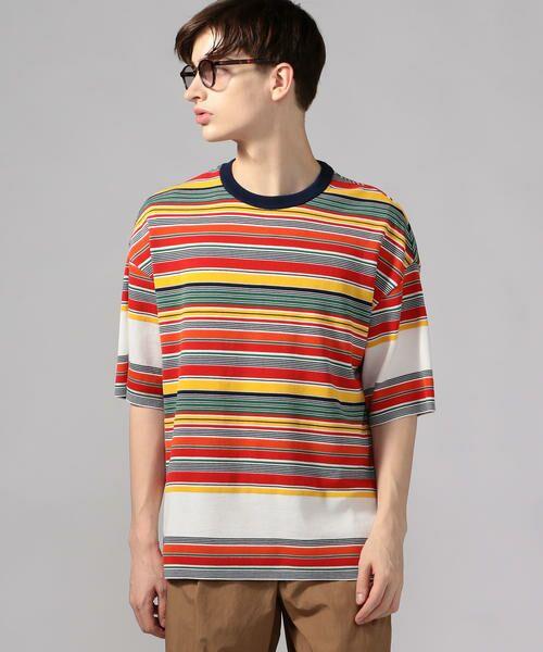 TOMORROWLAND / トゥモローランド Tシャツ   カラフルボーダー ビッグニットTシャツ tricot-T   詳細12