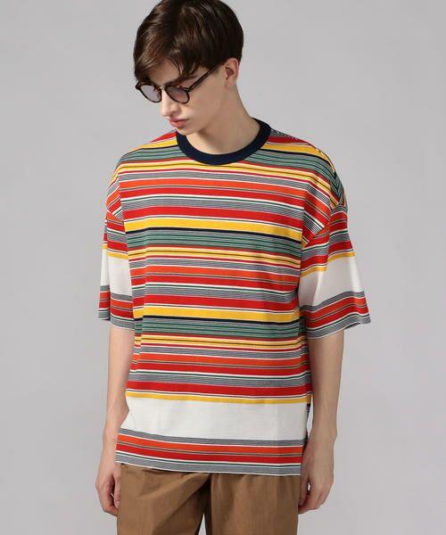 TOMORROWLAND / トゥモローランド Tシャツ   カラフルボーダー ビッグニットTシャツ tricot-T   詳細13