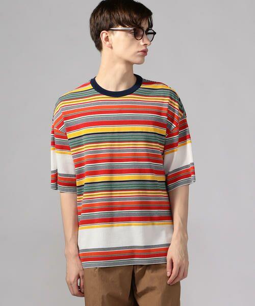 TOMORROWLAND / トゥモローランド Tシャツ   カラフルボーダー ビッグニットTシャツ tricot-T   詳細2