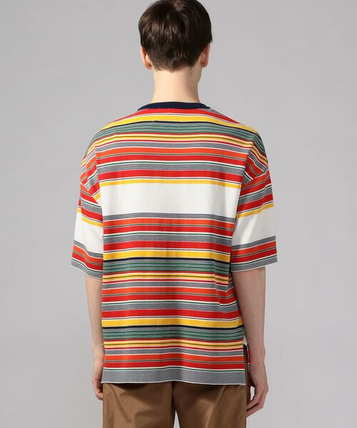 TOMORROWLAND / トゥモローランド Tシャツ   カラフルボーダー ビッグニットTシャツ tricot-T   詳細4