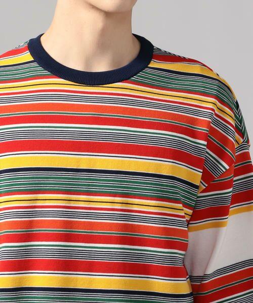 TOMORROWLAND / トゥモローランド Tシャツ   カラフルボーダー ビッグニットTシャツ tricot-T   詳細6