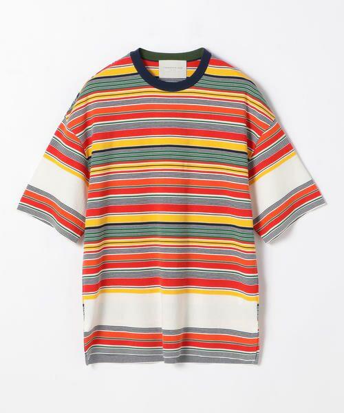 TOMORROWLAND / トゥモローランド Tシャツ   カラフルボーダー ビッグニットTシャツ tricot-T   詳細9
