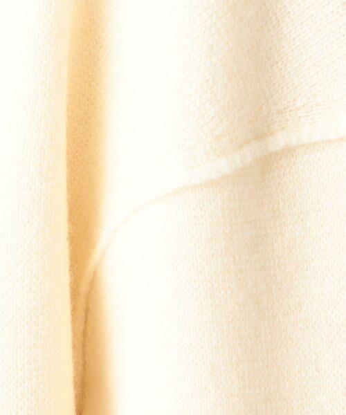 TOMORROWLAND / トゥモローランド ミニ丈・ひざ丈ワンピース | ウールミラノリブ ボックスワンピース | 詳細3