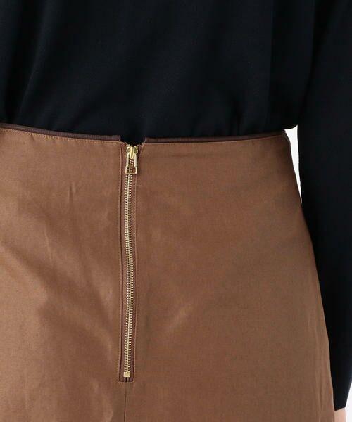 TOMORROWLAND / トゥモローランド ミニ・ひざ丈スカート | ライトモールスキン マーメイドスカート | 詳細8