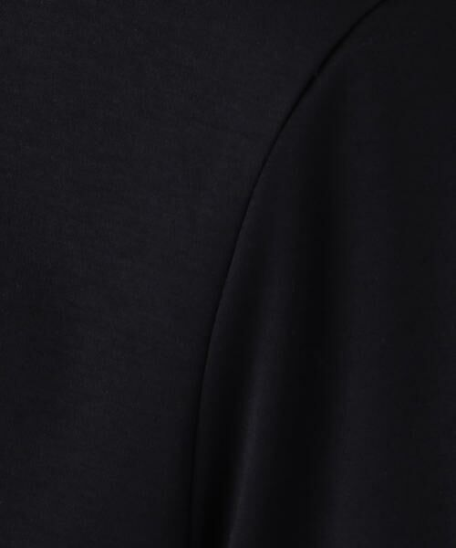 TOMORROWLAND / トゥモローランド ロング・マキシ丈ワンピース | コットンハイゲージスムース クルーネックワンピース | 詳細4