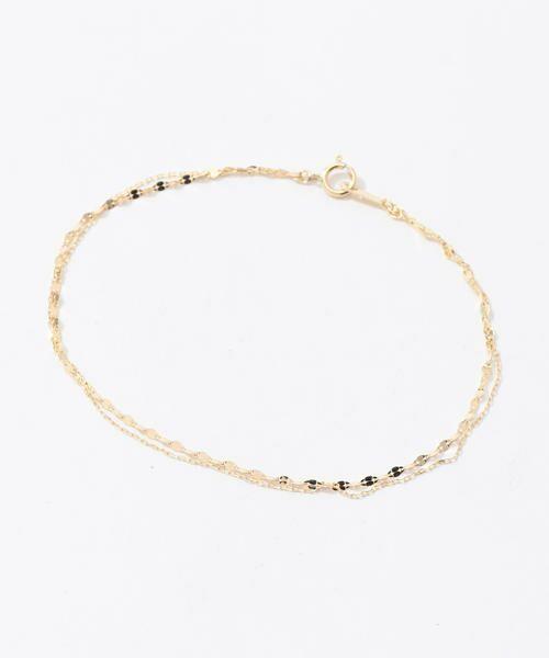 TOMORROWLAND/トゥモローランド LES BONBON 2tone bracelet 91 ゴールド F