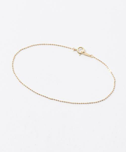 TOMORROWLAND/トゥモローランド LES BONBON ball chain bracelet 91 ゴールド F