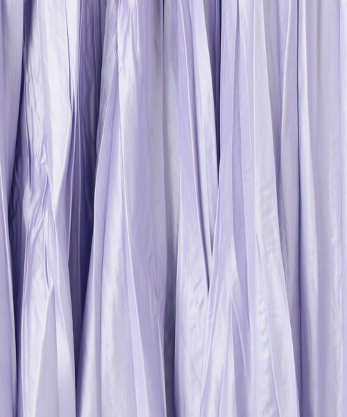 TOMORROWLAND / トゥモローランド ミニ・ひざ丈スカート   グロッシーサテンプリーツ ミディスカート   詳細12