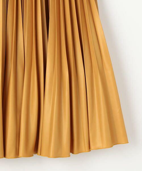 TOMORROWLAND / トゥモローランド ミニ・ひざ丈スカート | タイプライタープリーツ ミディスカート | 詳細12