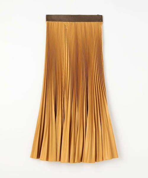TOMORROWLAND / トゥモローランド ミニ・ひざ丈スカート | タイプライタープリーツ ミディスカート | 詳細14