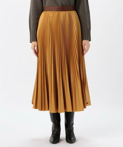 TOMORROWLAND / トゥモローランド ミニ・ひざ丈スカート | タイプライタープリーツ ミディスカート | 詳細8