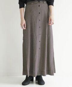 クラシックな雰囲気のチェックプリントがポイントのスカート。<br>腰回りはすっきりとしたデザインながらゆるやかに広がるAラインシルエットがほど良い女性らしさを演出してくれます。<br>タックイン・アウトどちらもバランス良く決まる丈感も魅力的。<br><br>〈GANNI(ガニー)〉<br>2000年に設立したデンマーク発のファッションブランド。<br>自立した女性の為のセクシーかつ遊び心のある洋服を創りつづけることをコンセプトとしています。<br>トレンドに左右されない個々の個性に適合させたデザインは、着る人自身がよさを感じられるように作られています。<br>VS Magazineなどのファッション誌でも取り上げられ、リブ・タイラーやエリザベス・オルセンなどの愛用者が増えています。<br><br>2020AW商品<br><br><b>店舗にお問い合わせの際は、下記の商品番号をお申し付けください。<br>商品番号:32-05-04-05005</b>