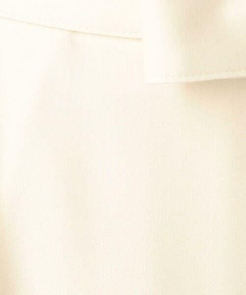 TOMORROWLAND / トゥモローランド その他パンツ | ウールサキソニー アシンメトリータックパンツ | 詳細16