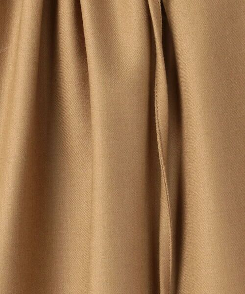 TOMORROWLAND / トゥモローランド ロング・マキシ丈スカート | ウールサキソニー フロントギャザースカート | 詳細15